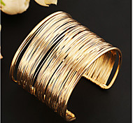 cheap -Women's Cuff Bracelet Unique Design Vintage Cute Party Open Multi Layer Fashion European Alloy Jewelry Jewelry Party Daily Costume Jewelry