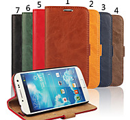 cheap -Special Design High-Grade Genuine Leather Mobile Phone Holster for Samsung Galaxy S4 I9500