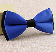 cheap -Other Vintage Cute Party Work Casual Black White Yellow Red Blue Green Purple Pink Other Wedding Tie Bar