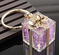 Недорогие -Кристалл подарочной коробке формы брелок кольцо мешок украшения организатор держатель для свадебного подарка любовника
