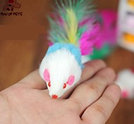 cheap -Teaser Feather Toy Mouse Textile For Cat Toy