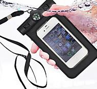 sacchetto di immersione impermeabile bussola per iphone4 4s 5 5s portatili sacchetto impermeabile esterno