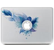 синий цветок декоративные наклейки кожи для MacBook Air / Pro / Pro с сетчатки дисплей
