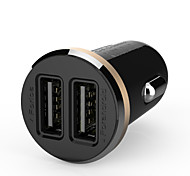 cheap -Ldnio® 12V~24V Dual Usb Car Charger Safety Voltage For Iphone/Samsung And Others(5V-2.1A)
