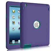 3 in 1 combinato modello d'onda pc& silicone infrangibile caso per ipad 2/3/4