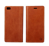 многоцветный сторона масло раздел первый слой кожаный бумажник кобуры для Huawei P8 / P8 Lite (ассорти цветов)