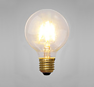 cheap -COSMOSLIGHT 1pc 2 E14 E26/E27 G80 Yellow 2300 K Decorative Incandescent Vintage Edison Light Bulb AC 220V AC 220-240V V