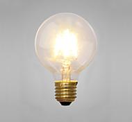 Decorative Incandescent Bulbs , E14 / E26/E27 2 W 2 COB LM Yellow AC 220-240 V