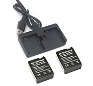 Battery Charger Battery For Action Camera Gopro 3 Gopro 3+ Polycarbonate
