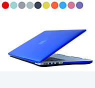 "ASLING Case for Macbook Pro 13.3"" with Retina display Solid Color Plastic Material Crystal Hard Protective Case"