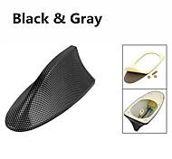 Недорогие -Фибропластика акула плавник дизайн клей база крыша декоративная антенна для bmw