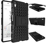Недорогие -доспехи Heavy Duty Футляр чехол для Sony Xperia 2015 Z5 e6603 e6633 e6653 e6683 Силиконовый защитный двойной цвет кожи