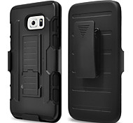 For Samsung Galaxy Case Waterproof / Dustproof / Shockproof / with Stand Case Back Cover Case Armor PC SamsungS6 edge plus / S6 edge / S6