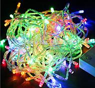 Недорогие -youoklight® multi-color rgb 180-светодиодные / декоративные световые огни (18 метров / 220-240 В переменного тока)