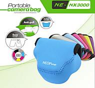 модно neopine неопрен мягкий треугольник камера сумка для Samsung nx3000 камеры 20-50мм объективом