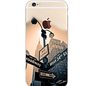 abordables -Para Funda iPhone 7 / Funda iPhone 7 Plus / Funda iPhone 6 / Funda iPhone 6 Plus / Funda iPhone 5 Diseños Funda Cubierta Trasera Funda