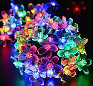 Недорогие -Рождество сакура лампа привели солнечной открытый украшения по всему неба звезды ламп 4,8 млн 20LED