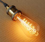 baratos -1pç 40W E26/E27 ST64 2300 K Incandescente Vintage Edison Light Bulb AC 220V AC 220-240V V
