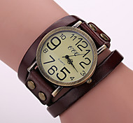 cheap -Women's Watches Retro Leather Watch Strap Watch Cool Watches Unique Watches Fashion Watch