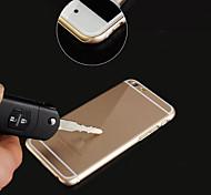 Недорогие -Big D Шкаф металлический задний новый ультра тонкие случаи телефона для Iphone 6 плюс / 6S плюс (ассорти цветов)