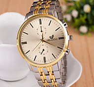 Women's Fashion Watch Quartz Alloy Band Vintage Gold
