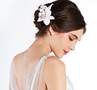 Women's Fabric Headpiece-Wedding Special Occasion Outdoor Flowers