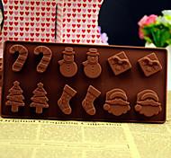 Рождественская елка снеговик рождественский подарок конфеты конфеты