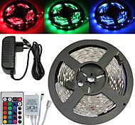 preiswerte -ZDM® Leuchtbänder RGB 150 LEDs RGB Fernbedienungskontrolle Schneidbar Abblendbar Wasserfest Farbwechsel Selbstklebend Verbindbar 100-240V