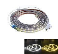 Недорогие -Источники питания 240 светодиоды Тёплый белый Белый Водонепроницаемый Подсветка для авто 220.0