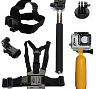 cheap -Accessory Kit For Gopro Waterproof Floating For Action Camera Gopro 6 All Action Camera Gopro 5 Xiaomi Camera Gopro 4 Session Gopro 4