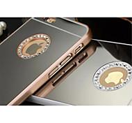 роскошные бриллианты зеркало случай для IPhone 5 / 5s (ассорти цветов)