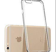 новый высокая проницаемость стелс ТПУ мягкий чехол для iPhone телефона 5 / 5s