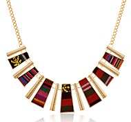 Jewelry Statement Necklaces Party / Daily / Casual Alloy / Fabric 1pc Women Wedding Gifts