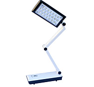 cheap -Jiawen Dimmable Small LED touch charging that shield an eye folding the learning writing lamp (AC110~220V)