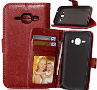 PU Leather Card Holder Wallet Stand Flip Cover With Photo Frame Case For Samsung Galaxy J1/J5/J7/Grand Prime