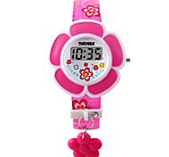 cheap -Children's Bracelet Watch Fashion Watch Digital LED PU Band Charm Pink Purple