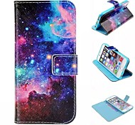 Special Design Novelty Folio Case PU Leather Coloured Drawing or Pattern Holster for iPhone 6/iPhone 6S