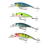 """4 pcs Cebos Señuelos duros Pececillo Colores Surtidos g/Onza,65 mm/2-5/8"""" pulgada,Plástico duroPesca de Mar Pesca en General Pesca en"""