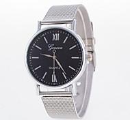 Недорогие -Женские Модные часы Кварцевый сплав Группа Серебристый металл