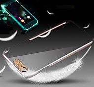 Lightning Flash Crystal Shell Mobile Phone Shell Transparent Protective Cover Case for iPhone 6 Plus/6S Plus 5.5