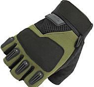 Недорогие -BOODUN/SIDEBIKE® Спортивные перчатки Перчатки для велосипедистов Влагопроницаемость Дышащий Ударопрочность Меньше трения Без пальцев
