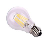 Недорогие -12W E26/E27 Круглые LED лампы A60(A19) 6 COB 1020 lm Тёплый белый / Естественный белый Декоративная AC 220-240 / AC 110-130 V 1 шт.