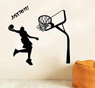cheap -People Sports Wall Stickers Plane Wall Stickers Decorative Wall Stickers, Vinyl Home Decoration Wall Decal Wall