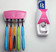 Недорогие -Подставки для зубных щеток Ванна Пластик Многофункциональный / Экологически чистый