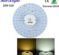 cheap -YouOKLight 1800 lm LED Ceiling Lights 100 leds SMD 2835 Sensor Decorative Warm White Cold White AC 110-130V AC 220-240V