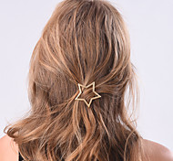 cheap -Women's Elegant Alloy Hair Clip Flower
