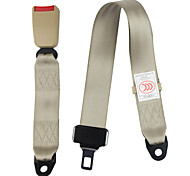 DearRoad Two Point Car Truck Adjustable Lap Adjustable Safety Seat Belt Extension Travel Belt