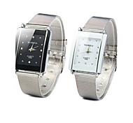 Жен. Модные часы Кварцевый Повседневные часы сплав Группа Серебристый металл