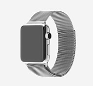 abordables -Ver Banda para Apple Watch Series 3 / 2 / 1 Apple Correa Milanesa Acero Inoxidable Correa de Muñeca