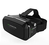 cheap -VR BOX Shinecon Virtual Reality 3D Glasses Cardboard 2.0 VR Headset (Black Color)
